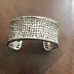 Silpada silver cuff bracelet